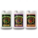 Grow - Micro - Bloom (Abono en 3 partes) - 1 litro