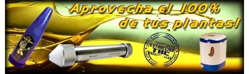 Extracción THC